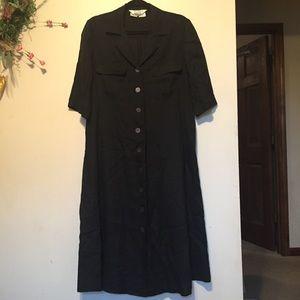 MaxMara flaxlinen dress